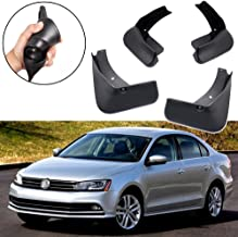 SPEEDLONG 4Pcs Car Mud Flaps Splash Guards Fender Mudguard for Volkswagen Jetta 2015 2016 2017 2018