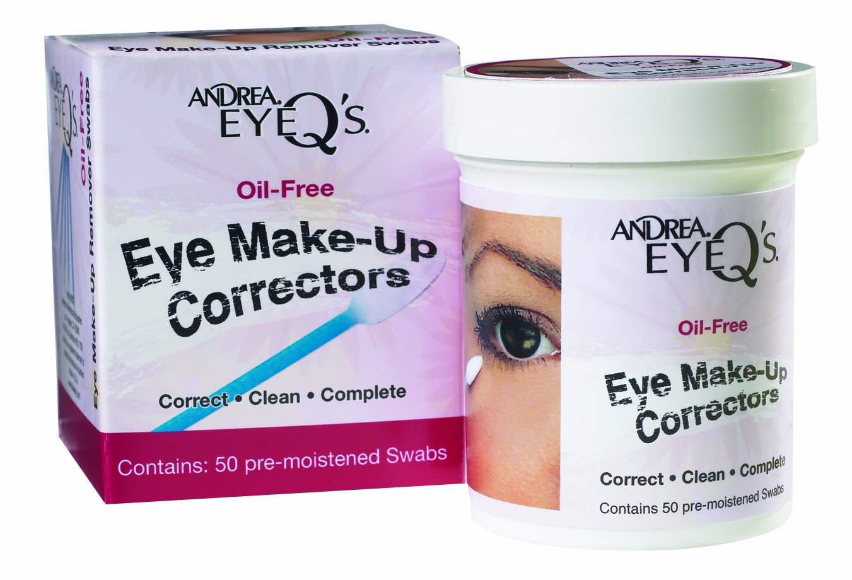 Andrea Eyeq's Oil-free Eye Correctors Same day shipping Make-up Ranking TOP14 Swab Pre-moistened