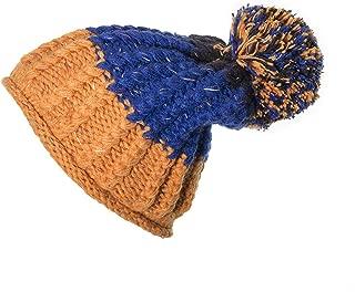 ANDERDM Skiing Warm Women Winter Hats Knitting Beanies Caps for Woman Turtleneck Beanie Hat Casual Snowboard Cap