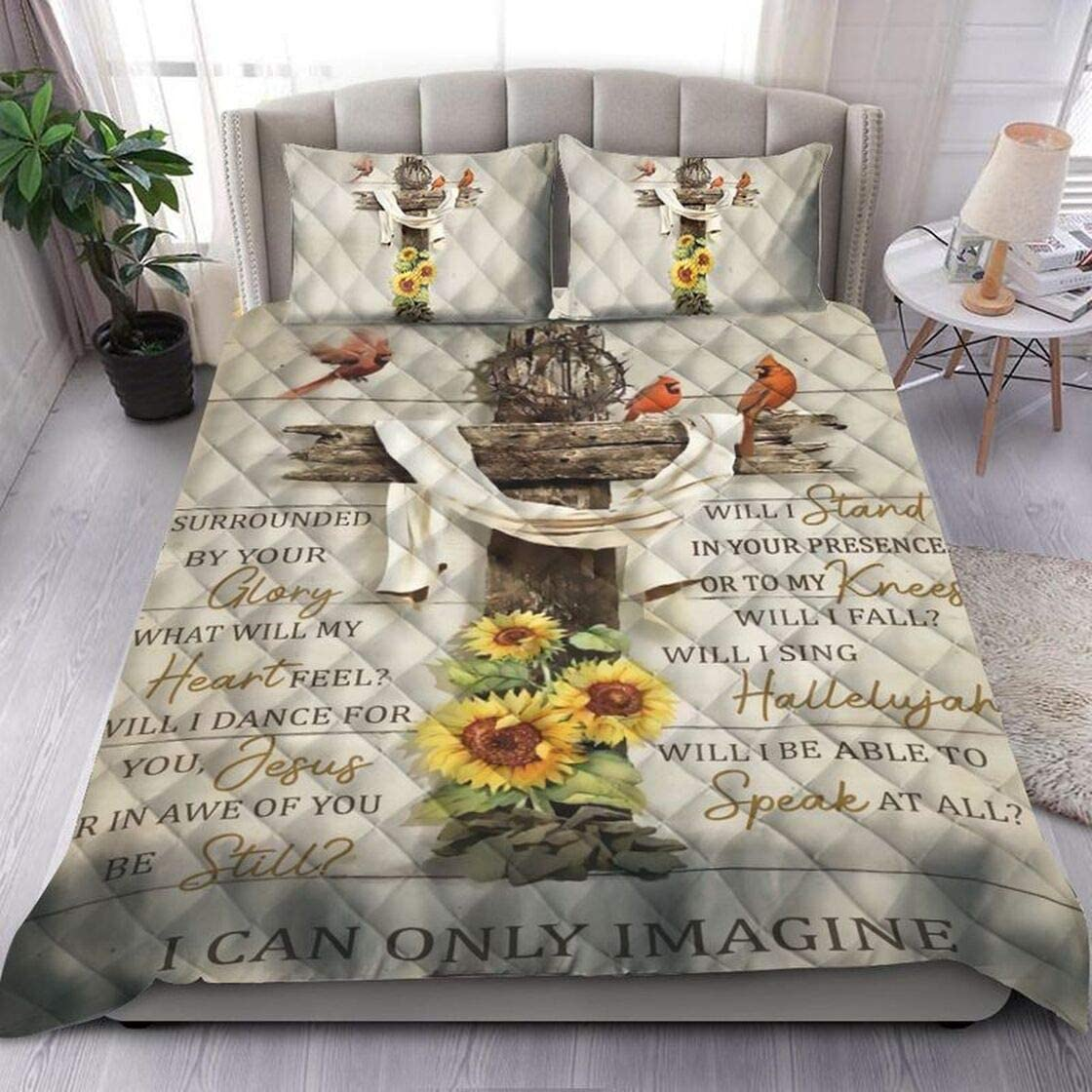 Personalized Jesus Quilt Ranking TOP14 Sets I Imagine Only Gift Can half Birthday