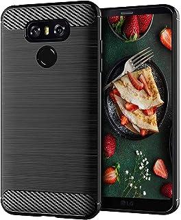 جراب LG G6، جراب هاتف LG G6 Plus، نحيف من السيليكون الناعم المرن خفيف الوزن مصنوع من مادة البولي يوريثين الحراري من جل الم...
