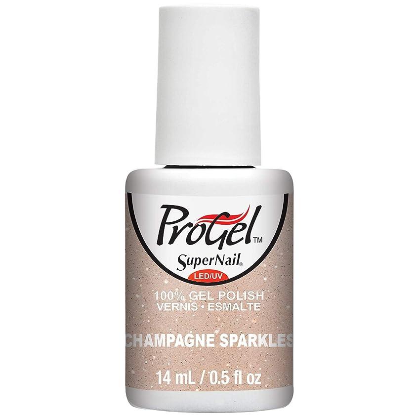 殺人者戦艦試すSuperNail ProGel Gel Polish - Champagne Sparkles - 0.5oz / 14ml