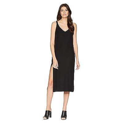 Lanston Midi Tank Dress (Black) Women