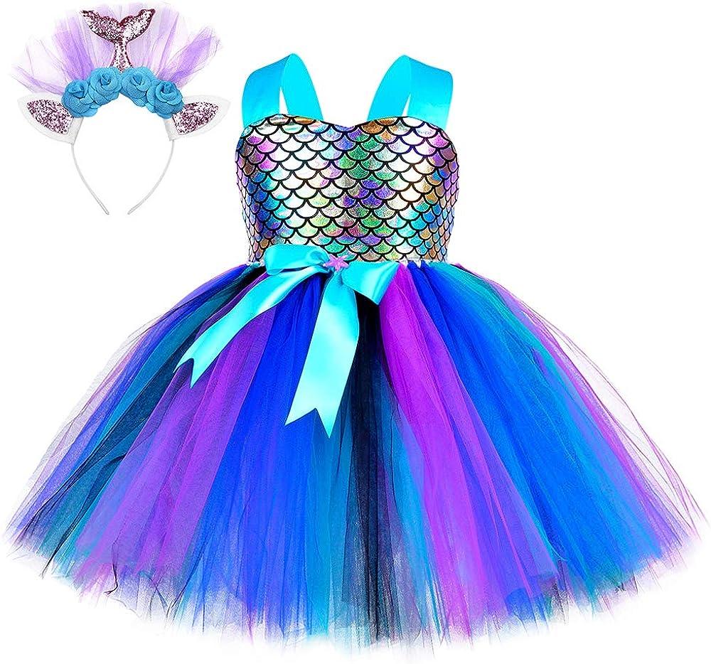 MetCuento Mermaid Tutu Dress Party Birthday Product Girls Prince Ranking TOP9