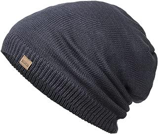 REDESS Slouchy Long Oversized Beanie Hat Women Men, Variy Styles Colors Fleece Lined Winter Warm Knit Cap