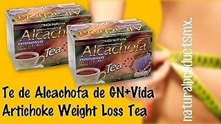 2 cajas Te De Alcachofa to Help You Lose Weight Naturally Artichoke Weight Loss Tea 2 boxes