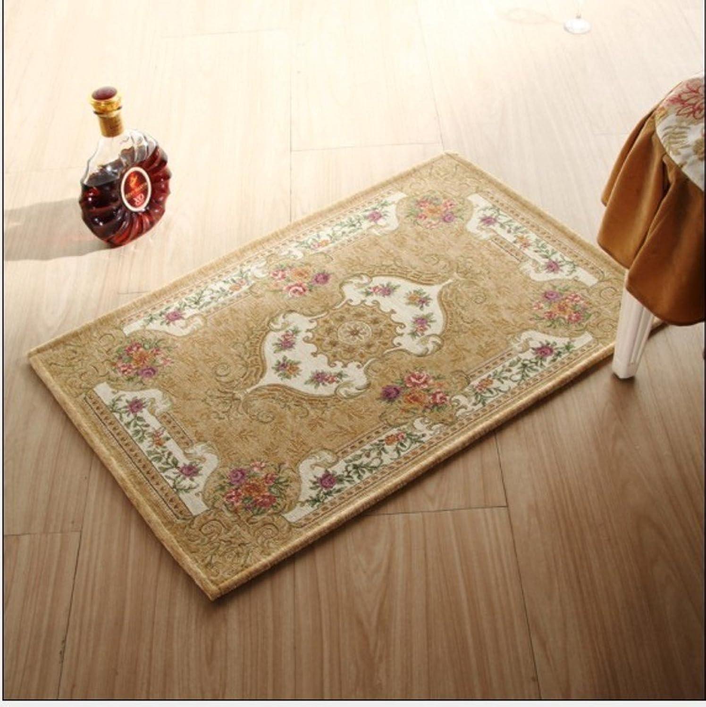 European-Style Floor mats Door mats Living Room Bedroom mat-F 70x140cm(28x55inch)