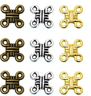 Monrocco 150 Pieces Celtic Knot Cross Charms Chinese Knot Pendant Charms Pendants for DIY Jewelry Wholesale Crafting Bracelet and Necklace Making