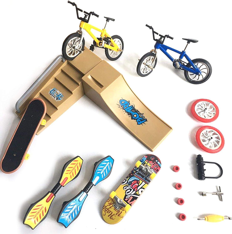 Skate Spring new work Park Kit Finger Toys Set Sport with for OFFicial site Parks Ramp