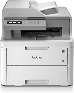 Brother DCP-L3550CDW WLAN 多功能设备(USB,2.0,512 MB,800 MHz,18 ppm,400 W)白色