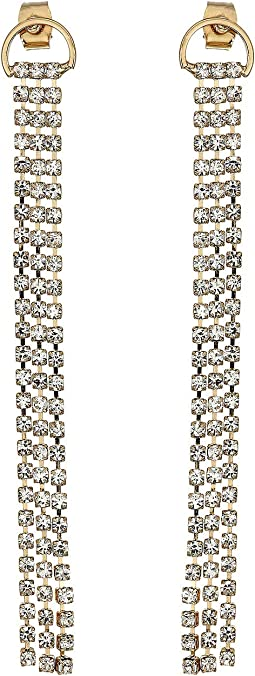 e1a997807 Rebecca minkoff crystal fringe earrings, Women | Shipped Free at Zappos