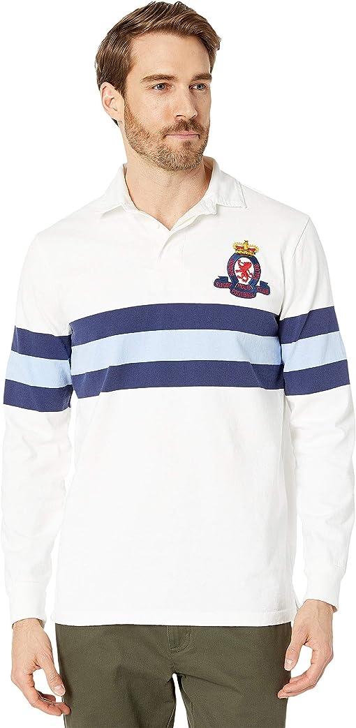 Classic Oxford White Multi