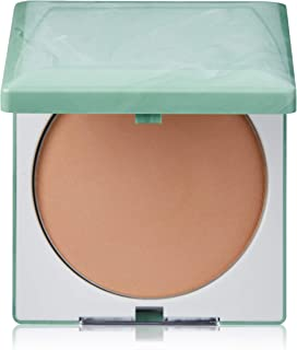 Clinique Stay-Matte Sheer Pressed Powder, Dry Combination to Oily, 04 Stay Honey, 0.27 Ounce