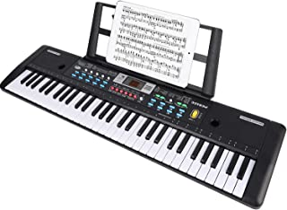 WOSTOO Keyboard Piano, 61 Key Portable Keyboard with Built-