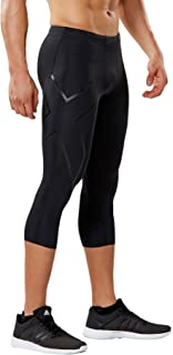 2XU Mens Core Compression 3/4 Tights MA3850b-P