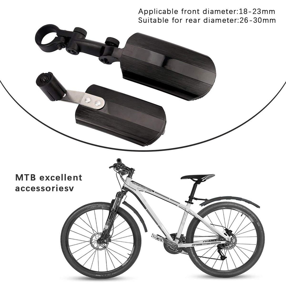 cjixnji Guardabarros para Bicicletas, Juego de Guardabarros para ...