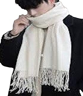 CJ Apparel Men's Nepalese Solid Colour Design Fashion Knitted Scarf Seconds Scarves Fall/Winter Wrap NEW