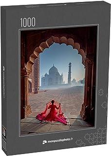 monpuzzlephoto Puzzle 1000 pièces L'étonnant Rajasthan de l'Inde - Puzzles Classiques dans Une boîte Noble avec Motif.