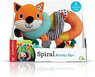 Infantino spiral activity toy - fox |Stroller & High Chair Toys|Baby soft Plush Toys|