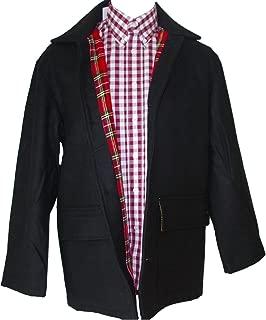 Warrior UK MPire Men´s Donkey Skinhead Punk Jacket Coat Tartan Lining