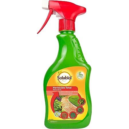 Herbicida natural, origen 100% orgánico con spray pulverizador, listo para usar con efecto rápido.