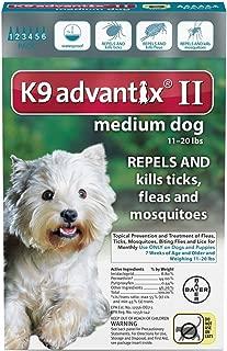 Bayer K9 Advantix II (11-20 lbs) 6-doses