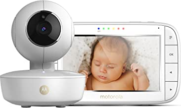 Motorola MBP 50 - Vigilabebés vídeo con pantalla LCD a color de 5.0