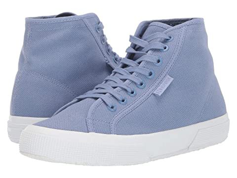 Superga Shoes , BLUE/LIGHT VIOLET