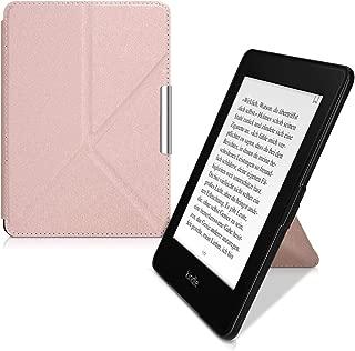 kwmobile Amazon Kindle Paperwhite 用 ケース - 電子リーダーカバー - PUレザー 電子書籍 保護ケース (2018(第10世代)には合いません)