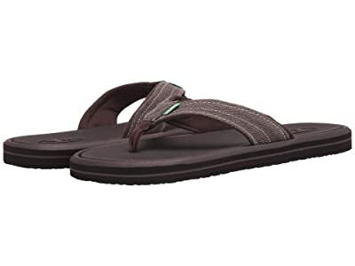 Sanuk Drop-In Tx (Washed Brown) Men