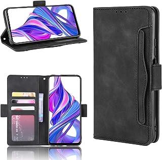 LODROC Lederen Portemonnee Case voor Huawei Honor 9X, [Kickstand Feature] Luxe PU Lederen Portemonnee Case Flip Folio Cove...