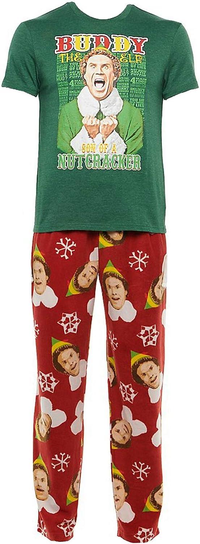 Christmas Buddy The Elf 2 Piece Sleep Pajama Set