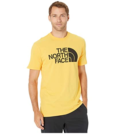 The North Face Short Sleeve Half Dome T-Shirt (TNF Yellow/TNF Black) Men