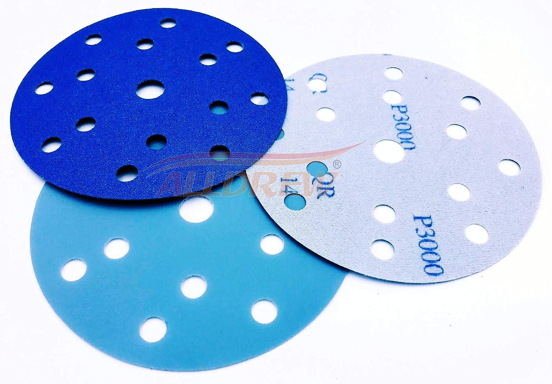 Klettschleifscheiben 75 Mm Nasses Trockenes Schleifpapier Set Körnung 320-1500