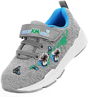 EIGHT KM EKM7006 Toddler Girls Running Shoes Embroidered Trainers