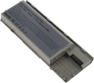 Fancy Buying Laptop Battery For Dell Latitude D620 D630 D630C D630N D631 D640 PC764, JD634, 312-0383, 451-10298 P/N's: PP18L RD300 RD301 PC764 TC030 TD175-12 Months Warranty (6 Cells 11.1V 5200mAh)