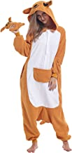 Zinuods Women Men Adult Pajamas Halloween Onesies Animal Cosplay Costumes