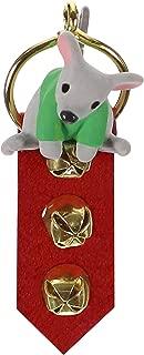 Hallmark Keepsake Mini Christmas Ornament 2019 Year Dated A Creature was Stirring Mouse on Door Hanger Miniature, 1.88