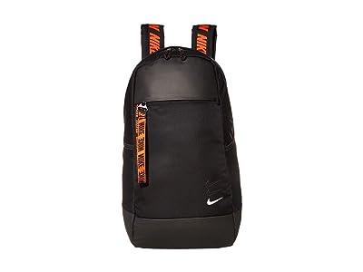 Nike Sportswear Essentials Backpack (Black/Black/White) Backpack Bags