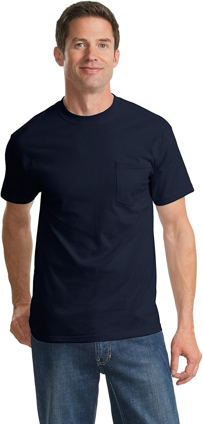 Port Company Men's Tall Essential Outstanding with Shirt T Pocket lowest price