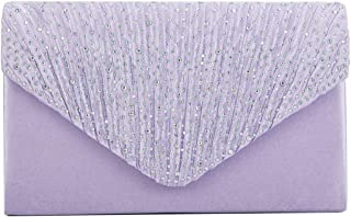 Best light purple clutch bag Reviews