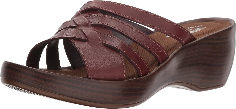Eastland schuhe's Poppy Slide Sandal, Cinnamon, 9 9 9 W 912