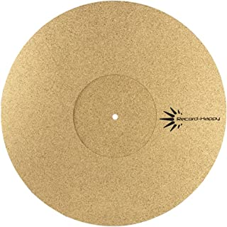 Turntable Slipmat Anti-Static Cork Mat - 1/8