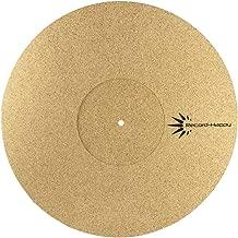 Yibuy 300mm Dia Turntable Slipmat Anti-Static Felt Mat Record Player Pad Red