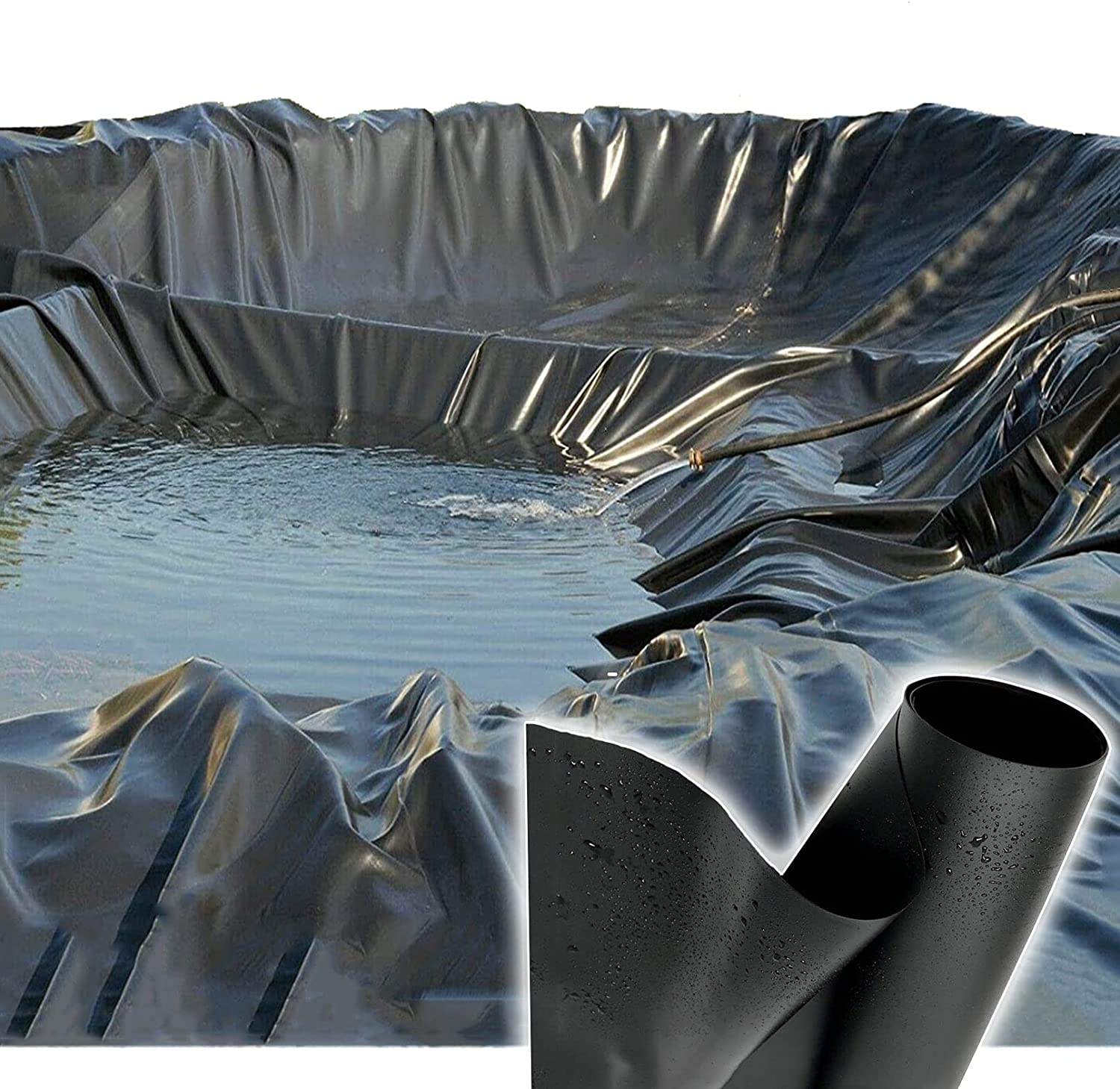 Special Campaign HORV At the price Pond Liner 8 mil HDPE Small Skins Pon for Black