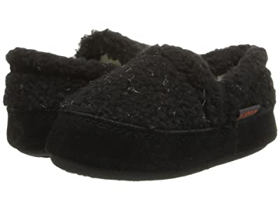 Acorn Kids Colby Gore Moc (Toddler/Little Kid/Big Kid) (Black Berber) Boys Shoes