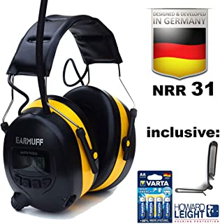 Ear Defender Original EARMUFF Digital AM FM MP3 / Smart Phone Radio Headphones Hearing Protector Ear Muffs