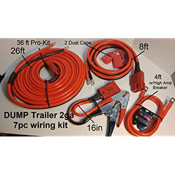Any Standard Size Winch Rough Country 24 FT Quick Disconnect Winch Power Cable RS108