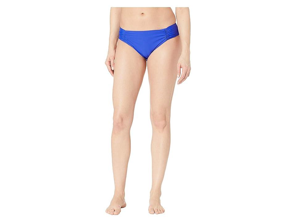 Athena - Athena Hey There Stud Shirred Side Hipster Bikini Bottom