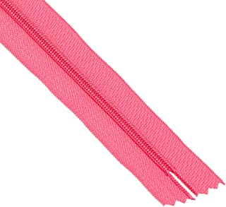 ByAnnie Zippers by Yard, Raspberry